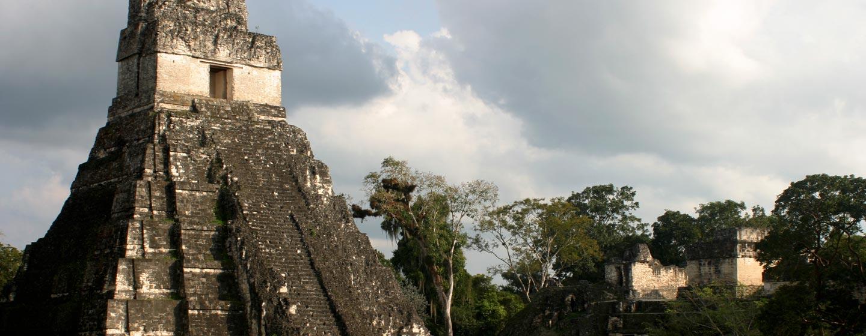 טיקאל / גואטמלה - פירמידות במרכז הפולחן בטיקאל