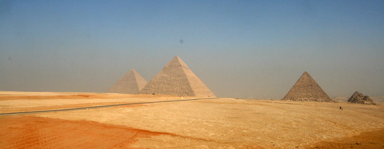גיזה / מצרים - הפירמידות הגדולות