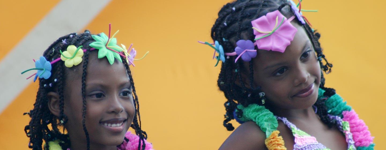 פנמה סיטי / פנמה - ילדות בקרנבל בפנמה סיטי