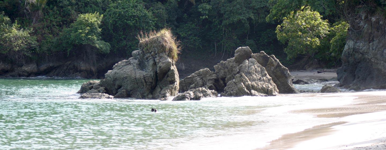 מנואל אנטוניו / קוסטה ריקה - חוף על שפת האוקיינוס השקט