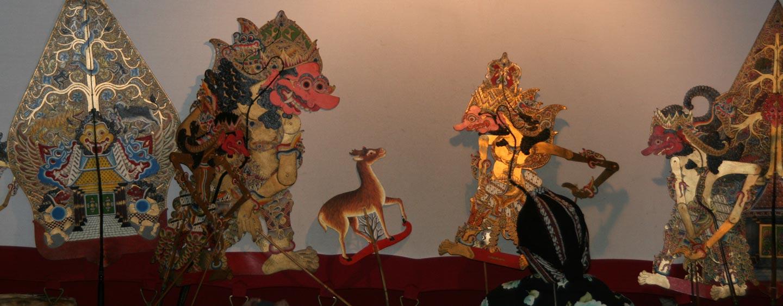 תיאטרון צלליות באי ג'אווה - אינדונזיה