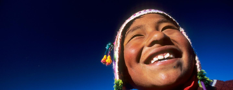 אגם טיטיקקה / פרו - נער מבני אינקה