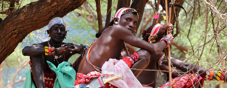 סמבורו / קניה - לוחמים משבט סמבורו