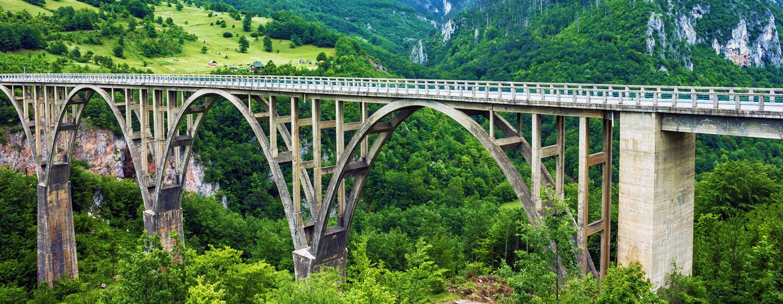 גשר הקשתות שמעל קניון טרה, מונטנגרו