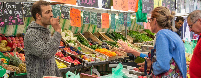 שוק בפריז, צרפת
