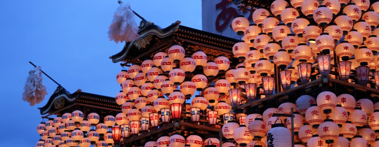 יפן - מרכבות בפסטיבל אינוייאמה