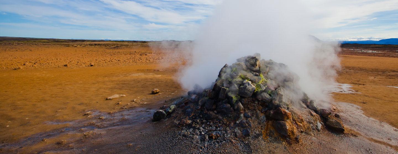 בורות בוץ מבעבע, איסלנד