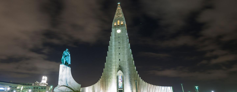 כנסייה לותרנית ברייקיאוויק, בירת איסלנד