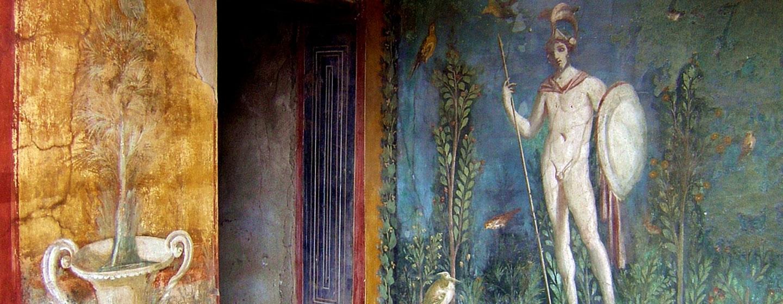 ציור קיר בפומפיי