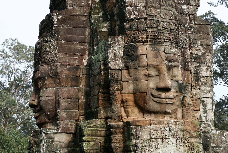 מקדש באיון באנגקור, קמבודיה