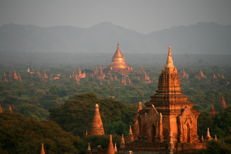 פגודות בבגאן, מיאנמר | בורמה
