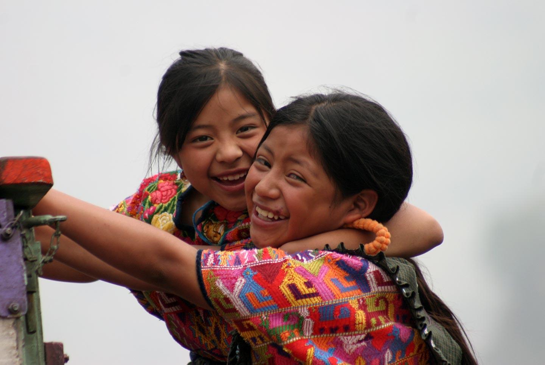 ילדות בשוק אינדיאני, גואטמלה