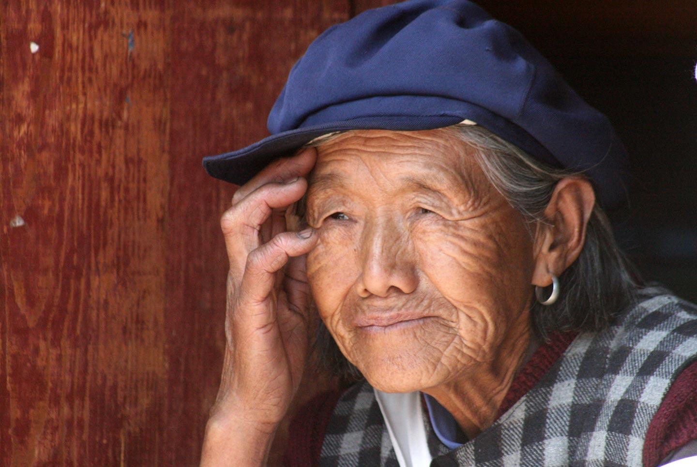 אשה משבט נאשי, מחוז יונאן, דרום מערב סין