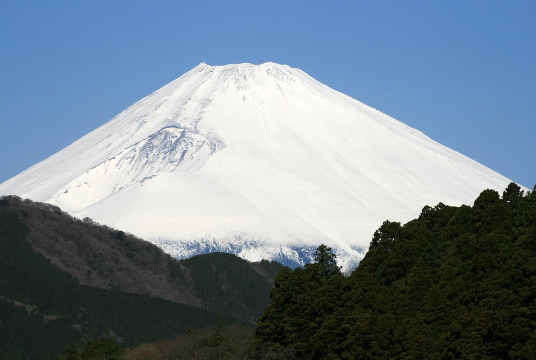 פסגת הר פוג'י באביב, יפן