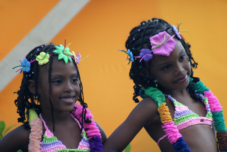 ילדות בקרנבל בפנמה סיטי, פנמה