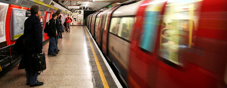 הרכבת התחתית של לונדון