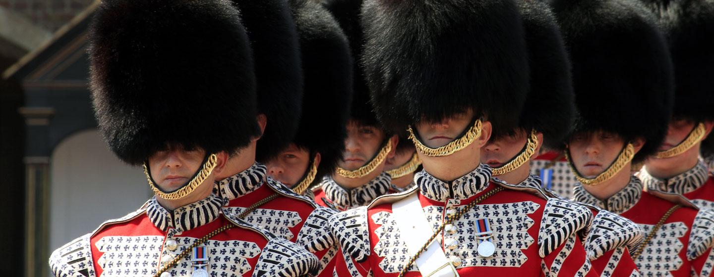 חיילי משמר המלכה, לונדון
