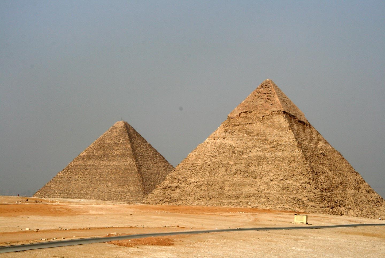 הפירמידות הגדולות בגיזה, מצרים