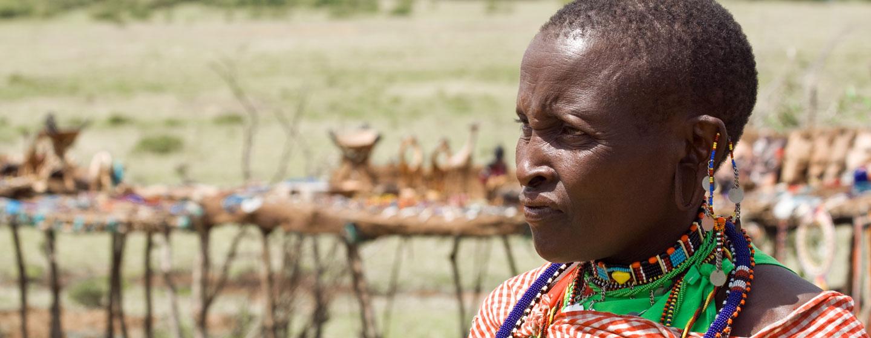 אישה מסאית, טנזניה