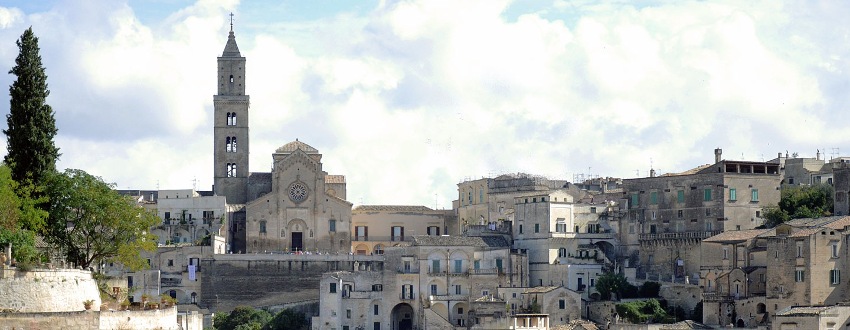 העיירה מאטרה, דרום איטליה