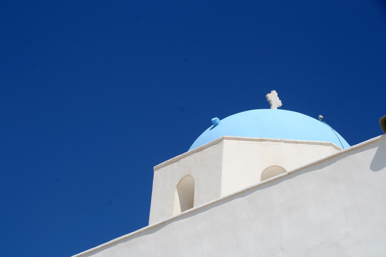כנסייה במילוס, האיים הקיקלדיים, יוון