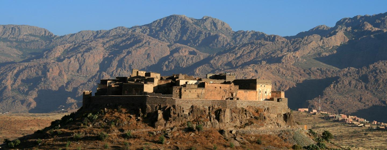 כפר בהרי אנטי אטלס במרוקו