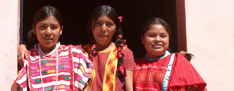 מורות בסמינר למורים במדינת ווחאקה במקסיקו