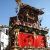 עגלת פסטיבל (מאצורי) בטאקאיאמה, האי הונשו, יפן