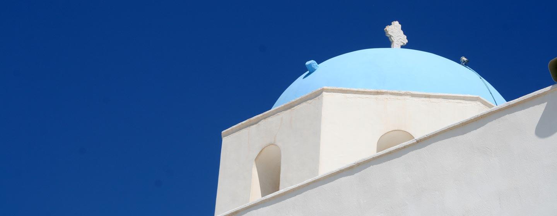 יוון - כנסיה באיים הקיקלדיים