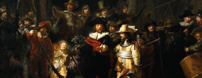 הולנד - רמברנדט - משמר הלילה
