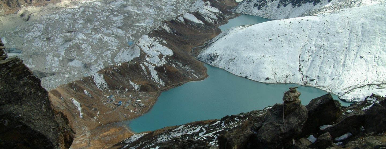 ההימלאיה / נפאל - קרחונים, מורנות ואגמים כלואים בהימלאיה