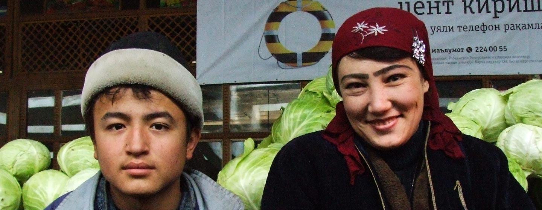 בוכארה / אוזבקיסטן - נשים בשוק מקומי