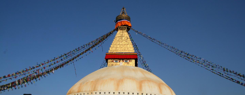 נפאל - הסטופה של בודנאט בעמק קטמנדו