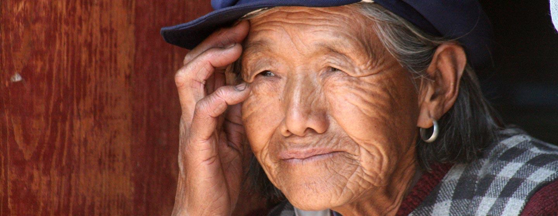 סין - אשה משבט נאשי ביונאן
