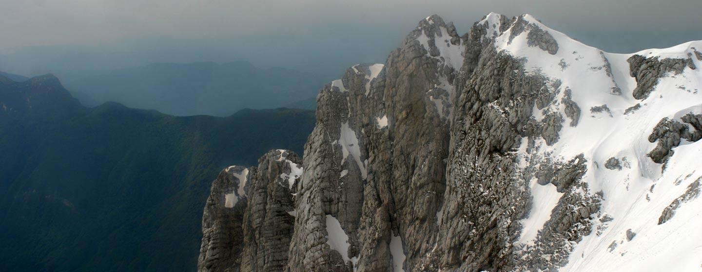 סלובניה - פסגה קרחת בהר קאנין - האלפים היוליאניים