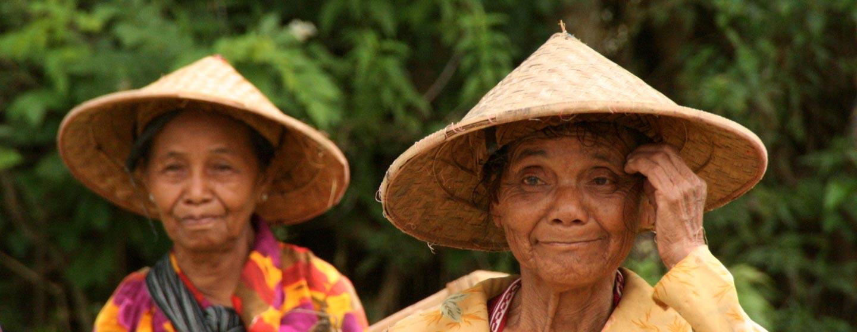 ג'אווה / אינדונזיה - חקלאים בגא'ווה
