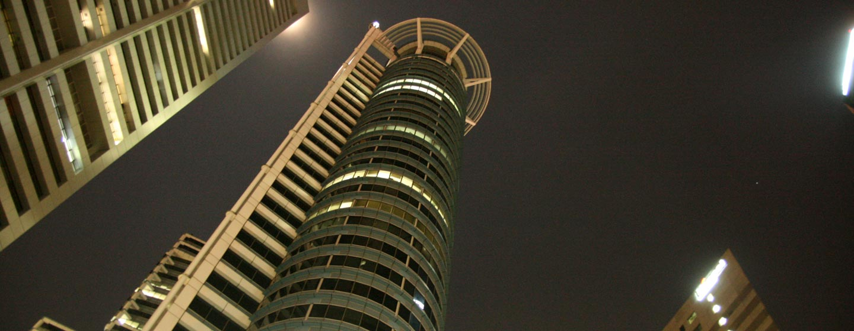 סינגפור - גורדי שחקים ברובע העסקים של סינגפור