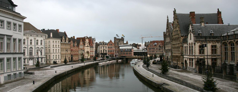 בלגיה - תעלות בעיר גנט