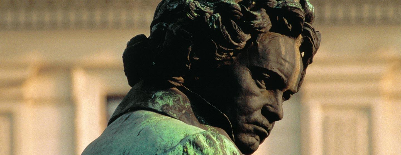 פסלו של בטהובן בווינה, אוסטריה