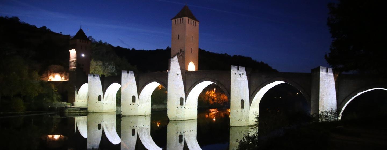 נהר טראן / צרפת - גשר ומגדלי שמירה