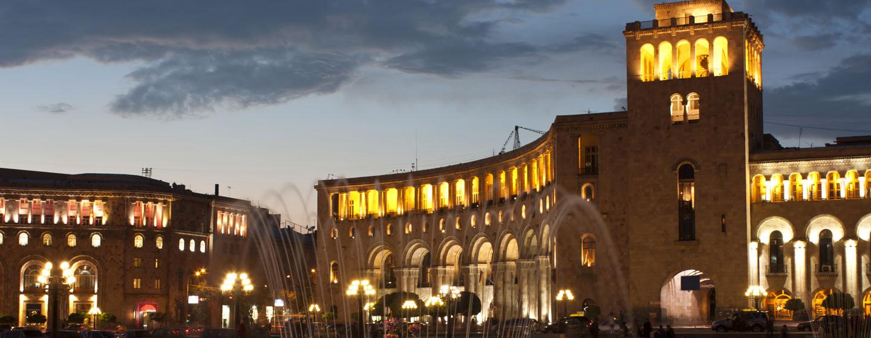 כיכר הרפובליקה, ירוואן, ארמניה