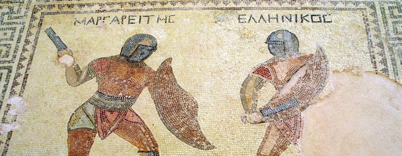 פסיפס באתר הארכיאולוגי קוריון, קפריסין