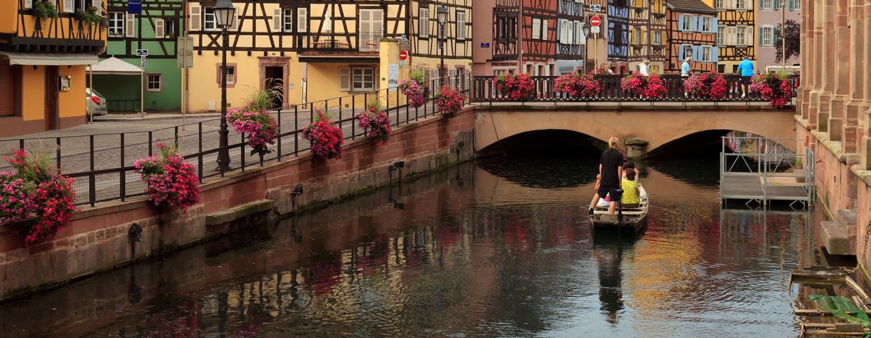 """העיירה קולמאר, המכונה """"ונציה הקטנה"""""""