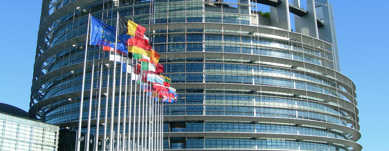 בניין האיחוד האירופי בשטרסבורג, צרפת