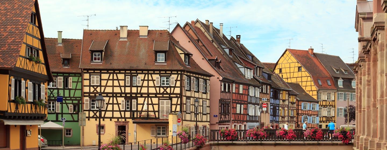 העיירה קולמאר, צרפת