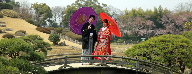 יפן - בגן באוקייאמה