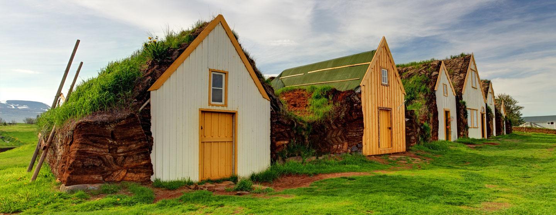 בתים איסלנדיים מסורתיים