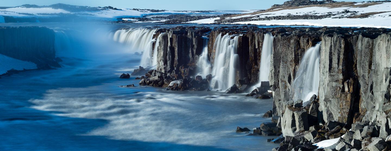 מפל בשמורת ואטנאיוקול, איסלנד
