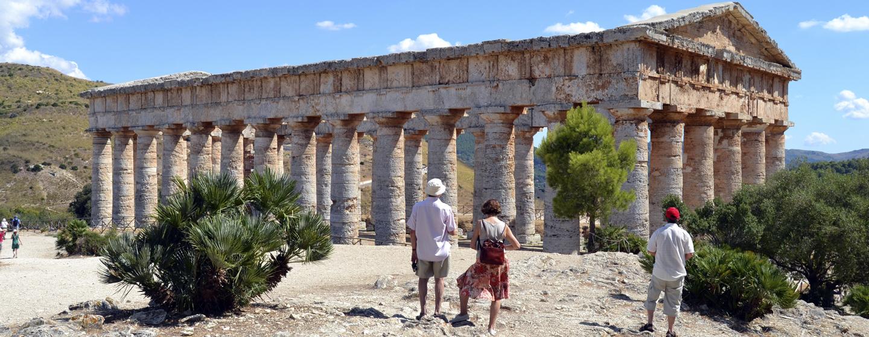 המקדש היווני בסג'סטה, סיציליה