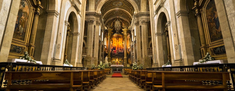 כנסייה בבראגה, פורטוגל